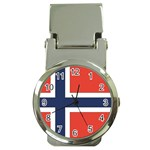 Flag_Norway Money Clip Watch