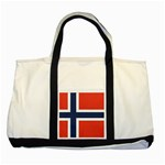 Flag_Norway Two Tone Tote Bag