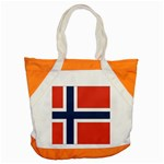 Flag_Norway Accent Tote Bag