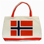 Flag_Norway Classic Tote Bag (Red)