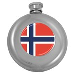 Flag_Norway Hip Flask (5 oz)