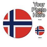Flag_Norway Multi-purpose Cards (Round)