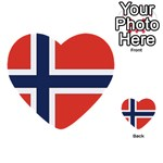 Flag_Norway Multi-purpose Cards (Heart)