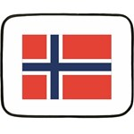 Flag_Norway Mini Fleece Blanket(Two Sides)