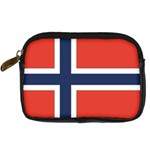 Flag_Norway Digital Camera Leather Case
