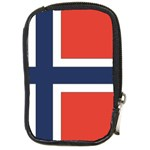 Flag_Norway Compact Camera Leather Case