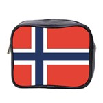 Flag_Norway Mini Toiletries Bag (Two Sides)