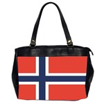 Flag_Norway Oversize Office Handbag (Two Sides)