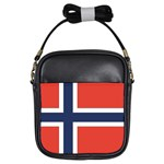 Flag_Norway Girls Sling Bag