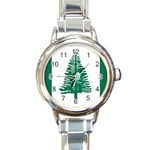 Flag_Norfolk Island Round Italian Charm Watch