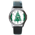 Flag_Norfolk Island Round Metal Watch