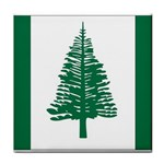 Flag_Norfolk Island Tile Coaster