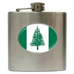 Flag_Norfolk Island Hip Flask (6 oz)