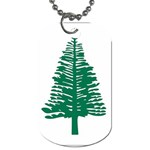 Flag_Norfolk Island Dog Tag (Two Sides)