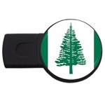 Flag_Norfolk Island USB Flash Drive Round (1 GB)