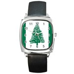 Flag_Norfolk Island Square Metal Watch