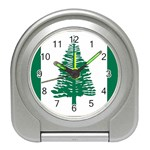 Flag_Norfolk Island Travel Alarm Clock