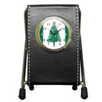 Flag_Norfolk Island Pen Holder Desk Clock