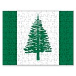 Flag_Norfolk Island Jigsaw Puzzle (Rectangular)