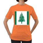 Flag_Norfolk Island Women s Dark T-Shirt