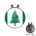 Flag_Norfolk Island Golf Ball Marker Hat Clip