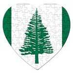 Flag_Norfolk Island Jigsaw Puzzle (Heart)