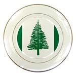 Flag_Norfolk Island Porcelain Plate