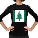 Flag_Norfolk Island Women s Long Sleeve Dark T-Shirt
