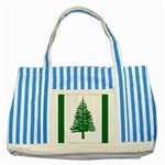 Flag_Norfolk Island Striped Blue Tote Bag