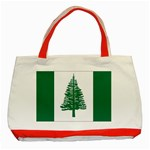 Flag_Norfolk Island Classic Tote Bag (Red)