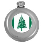 Flag_Norfolk Island Hip Flask (5 oz)