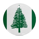 Flag_Norfolk Island Round Ornament (Two Sides)