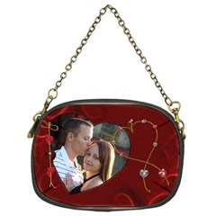Red Hot Purse By Lil    Chain Purse (two Sides)   E2fpame7p7mk   Www Artscow Com Front