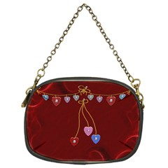 Red Hot Purse By Lil    Chain Purse (two Sides)   E2fpame7p7mk   Www Artscow Com Back