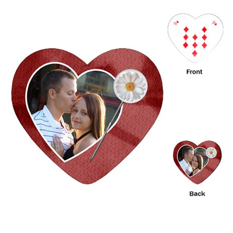 Love Heart Playing Cards By Lil    Playing Cards (heart)   5tacu9yer5ox   Www Artscow Com Front