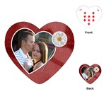 Love Heart Playing Cards - Playing Cards (Heart)