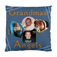 Grandma s Angels Pillow By Lil    Standard Cushion Case (two Sides)   Rpjti8ld27ui   Www Artscow Com Front