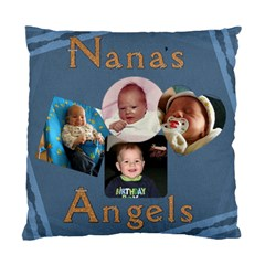 Nana s Angels Pillow By Lil    Standard Cushion Case (two Sides)   Cgp3u8lcriwk   Www Artscow Com Front