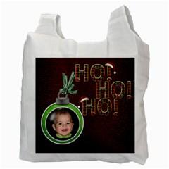 Santa Sack By Lil    Recycle Bag (two Side)   9rwicpx90jiz   Www Artscow Com Back