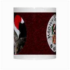 Meowy Christmas Mug By Lil    White Mug   Fum2gxgnclc9   Www Artscow Com Center