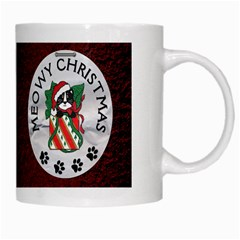 Meowy Christmas Mug By Lil    White Mug   Fum2gxgnclc9   Www Artscow Com Right