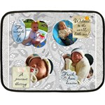 Fresh From Heaven Mini Fleece Blanket