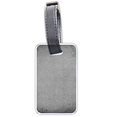 Grey Lace Luggage Tag By Catvinnat   Luggage Tag (two Sides)   Fufk9zj4dr8s   Www Artscow Com Back