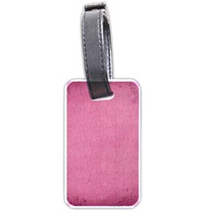 Pink Lace Luggage Tag By Catvinnat   Luggage Tag (two Sides)   C527d3ep1kmf   Www Artscow Com Back