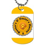 busters and fosters dog tag - Dog Tag (Two Sides)