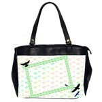 Bird_Bag - Oversize Office Handbag (2 Sides)