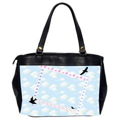 Bird Bag By Galya   Oversize Office Handbag (2 Sides)   7ufr1u3f5g74   Www Artscow Com Back