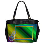 DarkRainbow_Bag - Oversize Office Handbag (2 Sides)