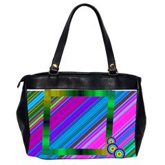 Darkrainbow Bag By Galya   Oversize Office Handbag (2 Sides)   9o8c6wwur2ug   Www Artscow Com Back
