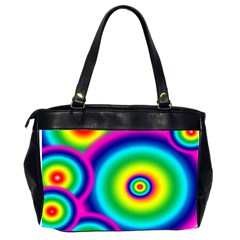 Rainbow Bag By Galya   Oversize Office Handbag (2 Sides)   X4by39ee2waz   Www Artscow Com Back